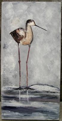 peinture emilienne oiseau